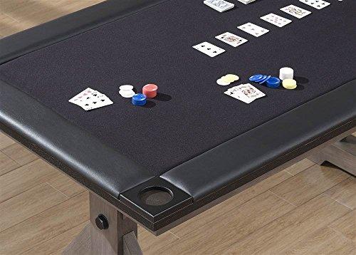 American Heritage Bandit Game Table 529906 Glacier Gray