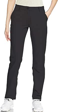 Golf Pants Women Long Stretch Tall Straight Leg Twill Work Chino Ladies