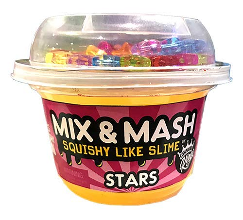 Compound Kings CK-110296 Mix n Mash Yogurt Cup Stars, Yellow