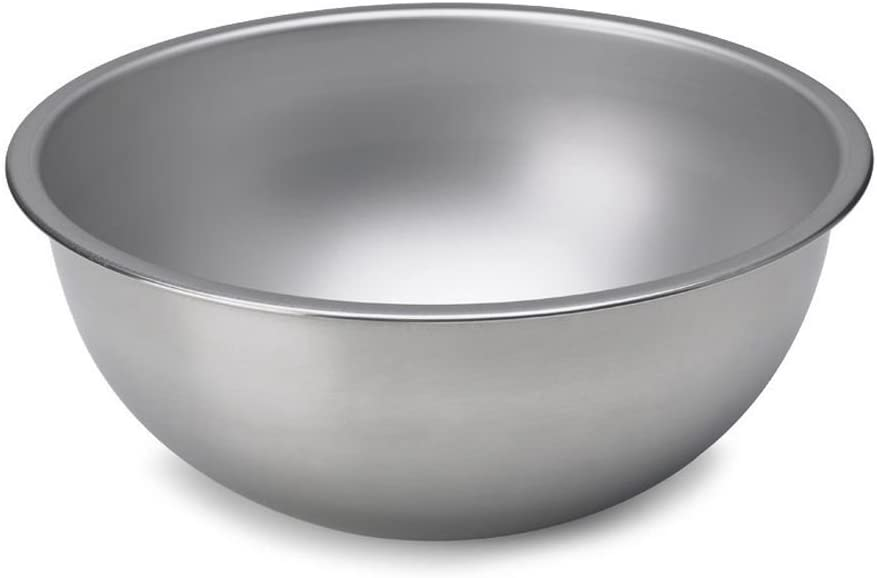Vollrath 1/2-Qt. Heavy-Duty Stainless Steel Mixing Bowl, 1/2 Quart Silver