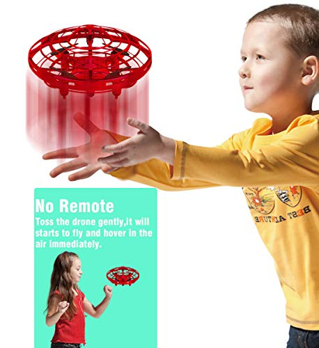 Mini Drone, Toys for Kids Boys Girls Christmas Birthday Gifts Infrared Induction Auto-Avoid Obstacles Quadcopter Helicopter Novelty Flying RC Drone Adults Beginners Teenagers Childrens Drones for Kids