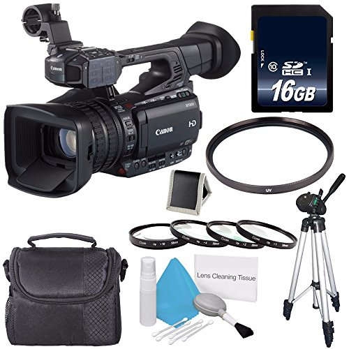 Canon XF200 HD Camcorder  + 58mm Macro Close Up Kit + 58mm U