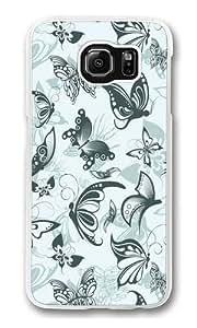Fluttering Free3 Custom Samsung Galaxy S6/Samsung S6 Case Cover Polycarbonate Transparent Kimberly Kurzendoerfer
