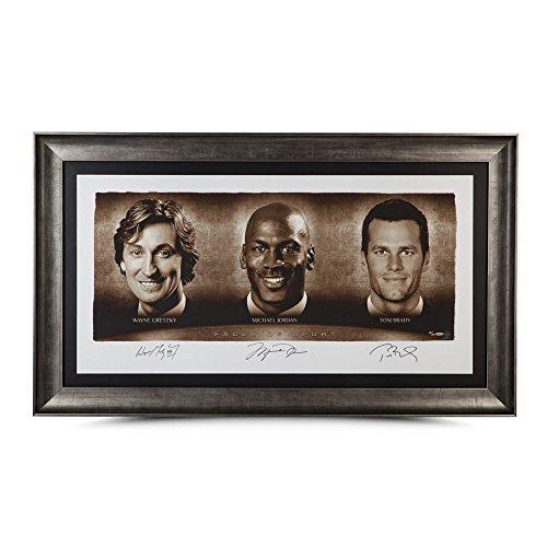 WAYNE GRETZKY, MICHAEL JORDAN and TOM BRADY