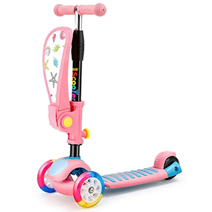 Patinetes clásicos Scooter de patineta ajustable para niños ...