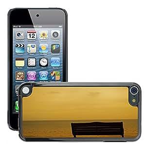 Print Motif Coque de protection Case Cover // M00156075 Banco Fondo Del Mar efecto de la sepia // Apple ipod Touch 5 5G 5th 6 6G 6th