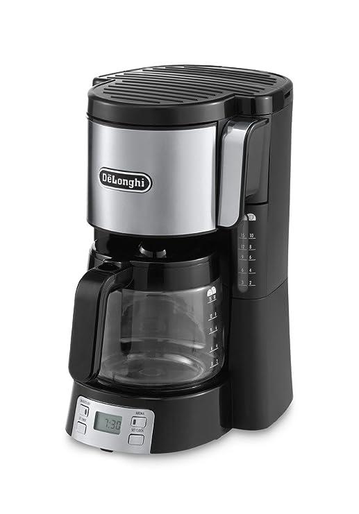 DeLonghi ICM15250 - Cafetera de filtro, independiente, 1000 ...
