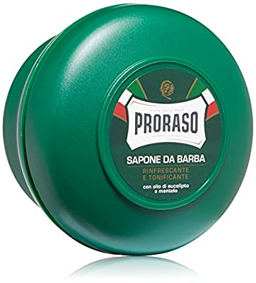 Proraso Shaving Soap, Eucalyptus & Menthol, 5.2 oz (150 ml), New Formulation