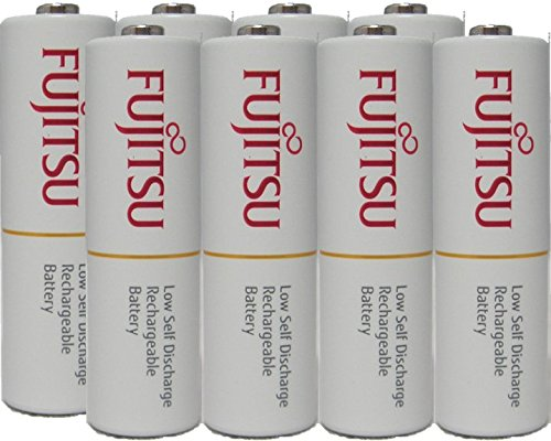 Fujitsu Ready-to-use HR3UTC AA rechargeable battery NiMH 1.2V Min. 1900mAh Made in Japan 8 Pcs ()