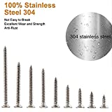 304 Stainless Steel Phillips Flat Head Screws,Wood
