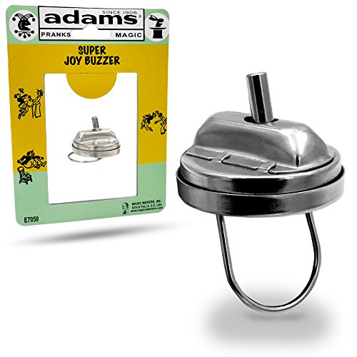 Adams Pranks and Magic - Super Joy Buzzer Gag Toy - Classic Novelty Prank Toy
