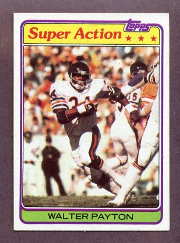 1981 Topps #202 Walter Payton IA Bears EX-MT 205237 Kit Young Cards