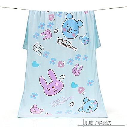 MiGMV Bebé delgado, Toalla de baño, agua blanda, pecho toalla absorbente de 140