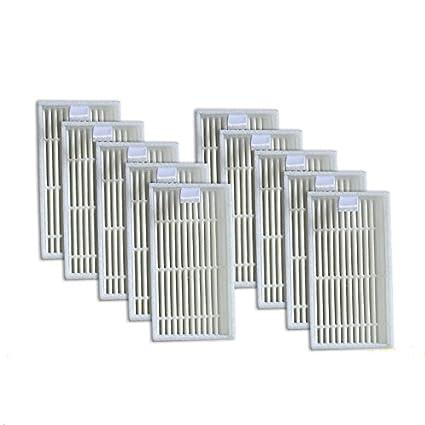 REFURBISHHOUSE Paquete de 10 Filtro Hepa Superior para Ilife V3S V5 V5S V3S Pro Aspirador Robótico: Amazon.es: Hogar