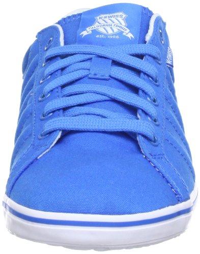 K-Swiss HOF IV T VNZ - Zapatillas de lona hombre azul - Blau (Brilliant Blue/White)