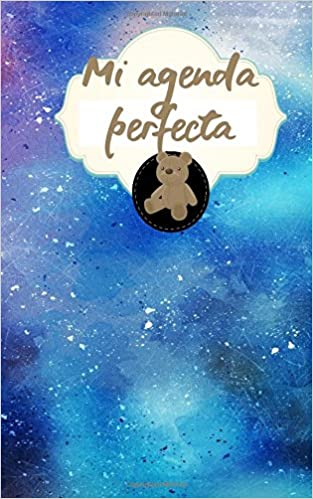 Mi agenda perfecta (Spanish Edition): Susana Escarabajal ...