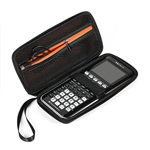 BOVKE Graphing Calculator Carrying Case for Texas Instruments TI-84/Plus CE Hard EVA Shockproof Storage Travel Case Bag Protective Pouch Box (Ti 84 Plus Ce Graphing Calculator Manual)