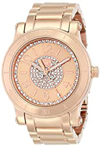 Juicy Couture Women's 1900856 HRH Analog Display Quartz Rose Gold Watch