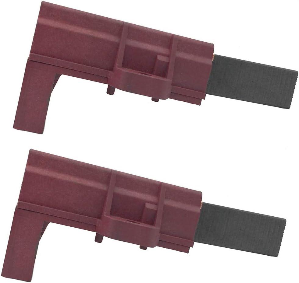 UFelice - Escobillas y soportes de repuesto para lavadora de carbono, compatibles con Samsung y máquinas de welling (2 unidades)