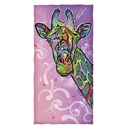 Dean Russo Giraffe Cotton Beach Towel ()
