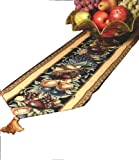 Manual Table Runner, Old World Italy w/Tassels