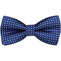 Boys Children Kids Solid Color Satin Banded Bow Ties Various Color