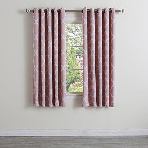 Best Home Fashion Room Darkening Morrocan Print Curtains ...