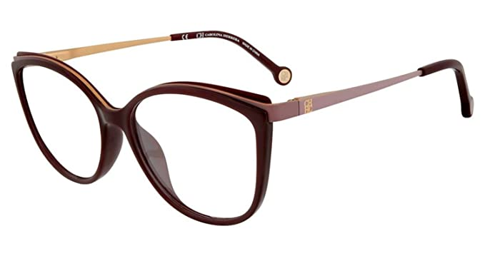4d4ba93762a5 Image Unavailable. Image not available for. Color: Eyeglasses CH by Carolina  Herrera VHE 783 K Burgundy 9FDY