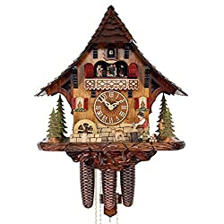Adolf Herr Cuckoo Clock - The Busy Wood Chopper AH 446/1 8TMT
