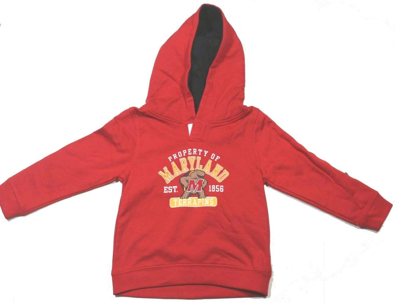 50339c3d3 Campus Lifestyle Toddler Boys Maryland Terrapins Hoodie Hooded Sweatshirt  Size 3T