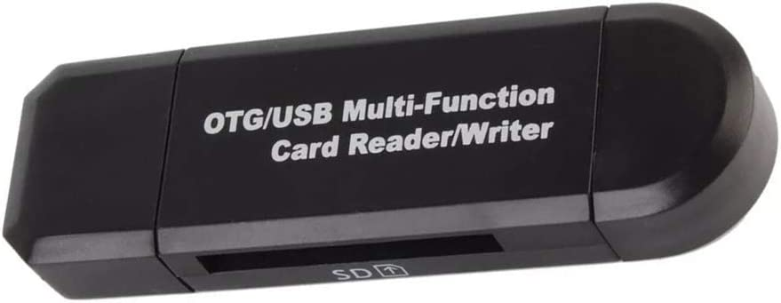 Topke Lector de Memorias Mini USB 2.0 OTG Micro SD//SDXC TF Lector de Tarjetas Adaptador de PC port/átiles Accesorios para el Ordenador