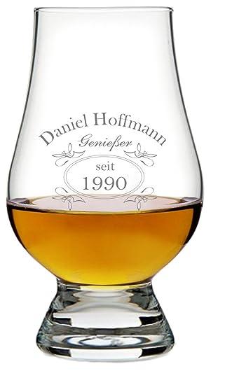 EIN Original The Glencairn Glass, Glas mit Whiskey Design inkl ...