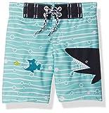 Gymboree Baby Toddler Boys' Shark Swim Trunk, Multi, 3T