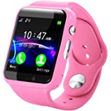 Kids Smart Watch Docooler Children Tracker Smartwatch with Camera Anti Lost for Android BT Cell Phone Touch Screen Pedometer Sleep Monitor Calendar