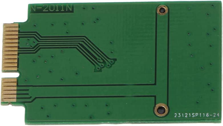 Wondiwe M.2 NGFF SSD A 12 6 Pin Adapter Board for Air 2010 2011 A1370 A1369