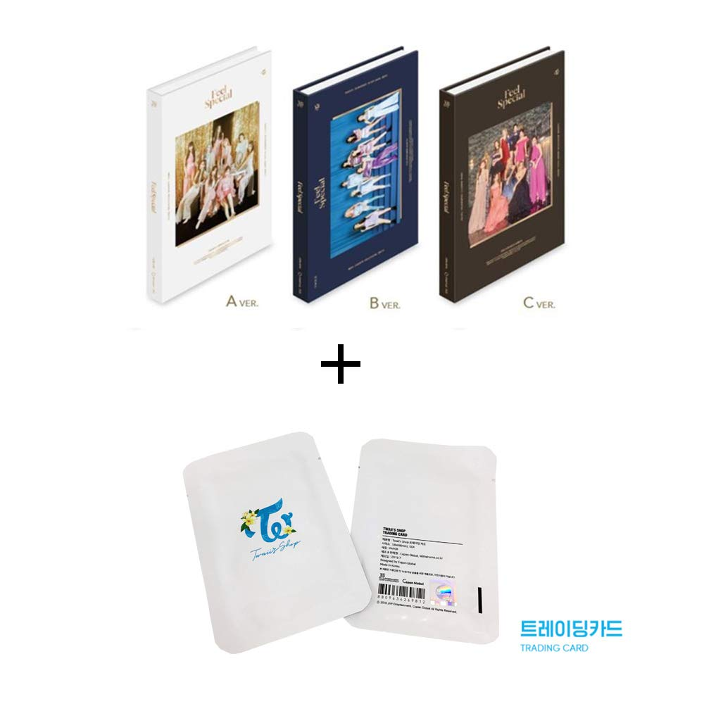 Twice 8th Mini Album Feel Special and Twaii's Shop Official Trading Photocard Set (Incl. Pre-Order Benefits, One Random Arcylic Photocard) (A Ver) by Twice