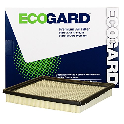 ECOGARD XA10411 Premium Engine Air Filter Fits Chevrolet Colorado / GMC ()