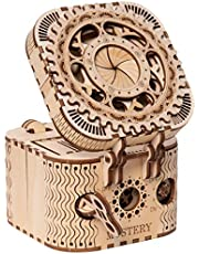 ROKR Puzzle Box 3D Wooden Puzzle Model Kits for Adults Birthday Gifts (Treasure Box)