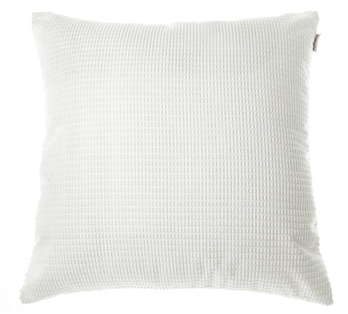 "Noblidonna 24"" X 24"" Pillowcase  Solid White Throw Pillow Co"