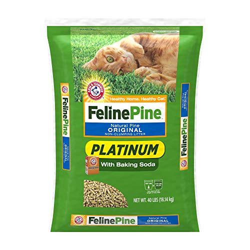Top feline pine cat litter 20 lbs