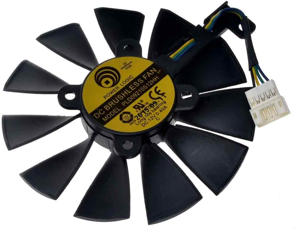PLD09210S12HH 88mm DC 12V 0.4A 28mm 4Pin Graphics Video Card Cooling Fan