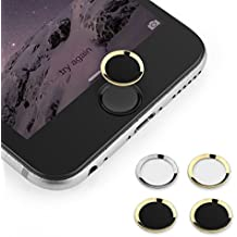 Touch ID Button,(2 pack) BUTEFO Home Button Sticker (Support Fingerprint Indentification System Touch ID) for...
