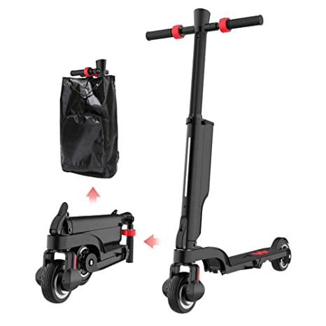 CYGGL Mini Scooter eléctrico Plegable para Adultos ...