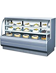 Turbo Air TCGB-72-CO Curved Glass Bakery Display Case