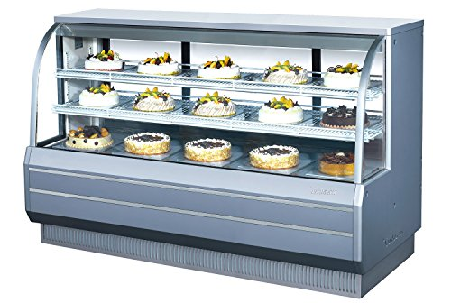 Turbo Air TCGB-72-DR Curved Glass Non-Refrigerated Bakery Display Case