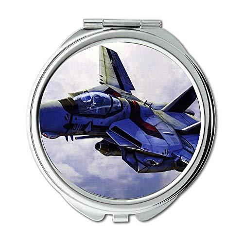 Yanteng Wallpaper Jet Fighter,Mirror,Travel Mirror,Dragon Ball Fighter z Switch,Pocket Mirror,Portable Mirror