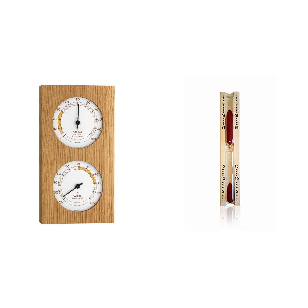 TFA Dostmann 40.1052.01 Termometro//igrometro da sauna