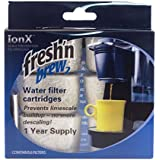 Replacement Carbon Water Filter Cartridge Refills by Fresh'n Brew2 Compatible With Keurig, Breville, and Cuisinart Coffee Makers