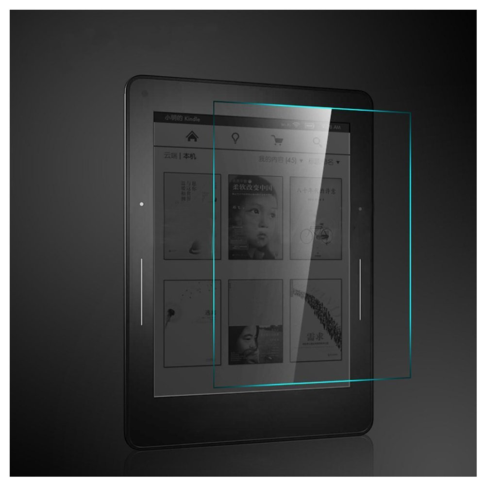 SODIAL(R) 9H Tempered Glass Film Screen Protector For  Kindle Paperwhite 1/2/3 6' 106260