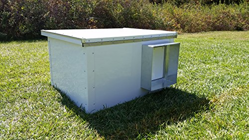 Corner Creek Deer (DEER CREEK K9 Kennels Large Aluminum Dog House)